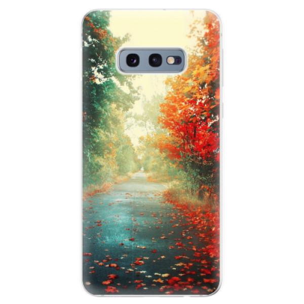 Odolné silikonové pouzdro iSaprio - Autumn 03 - Samsung Galaxy S10e