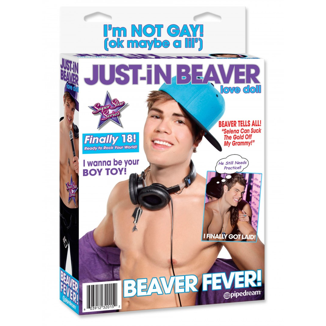 Just In Beaver Love Doll - nafukovací panák