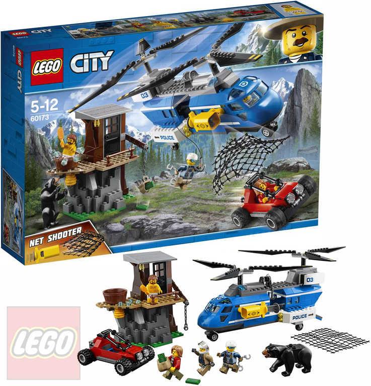 LEGO CITY Zatčení v horách 60173 STAVEBNICE