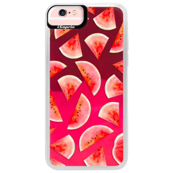 Neonové pouzdro Pink iSaprio - Melon Pattern 02 - iPhone 6/6S