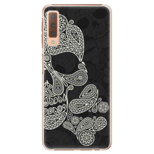 Plastové pouzdro iSaprio - Mayan Skull - Samsung Galaxy A7 (2018)