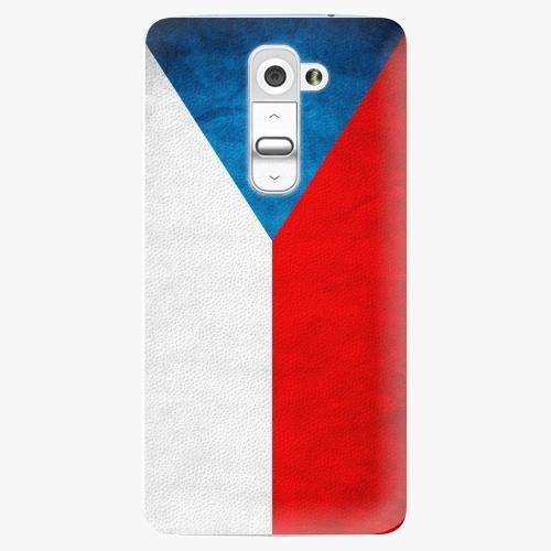 Plastový kryt iSaprio - Czech Flag - LG G2 (D802B)