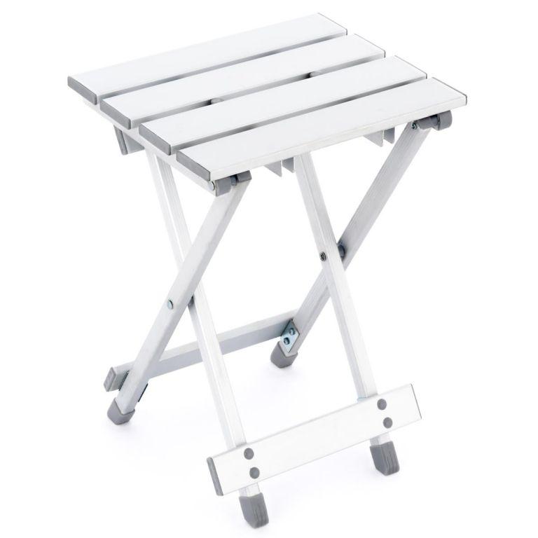 Sklopná stolička - hliník