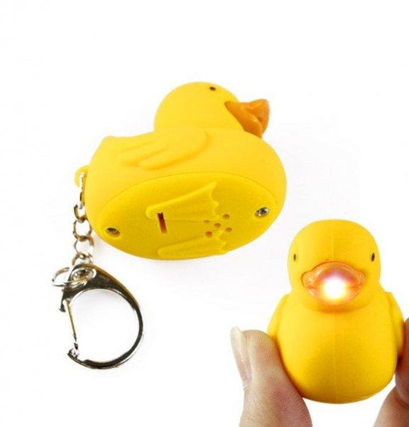 LED kachna - klíčenka