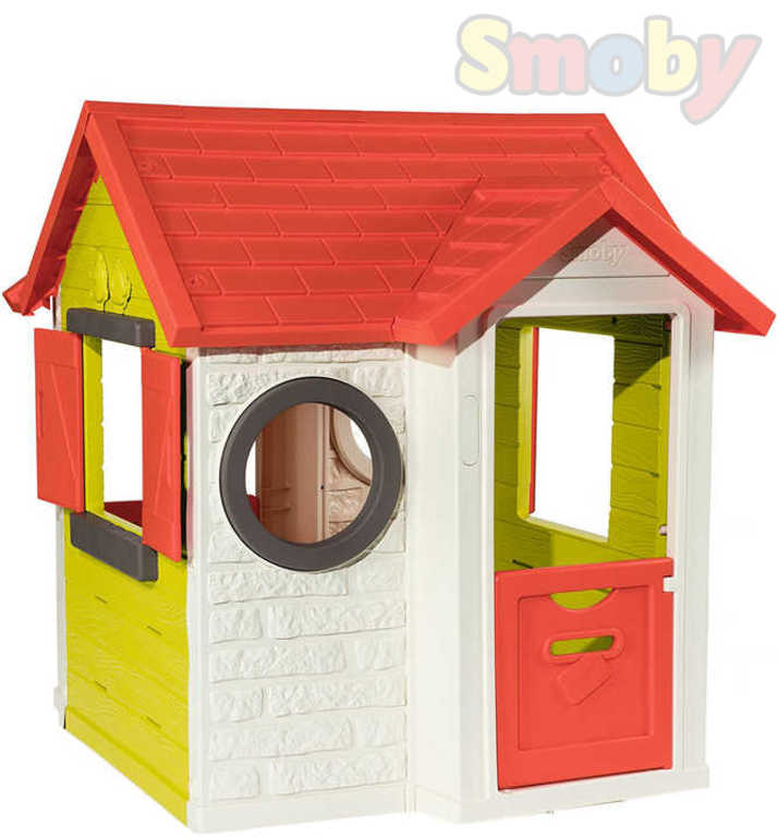 SMOBY Domeček dětský My House zahradní zvonek na baterie plast