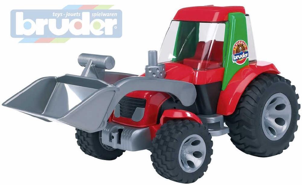 BRUDER 20102 Traktor s radlicí