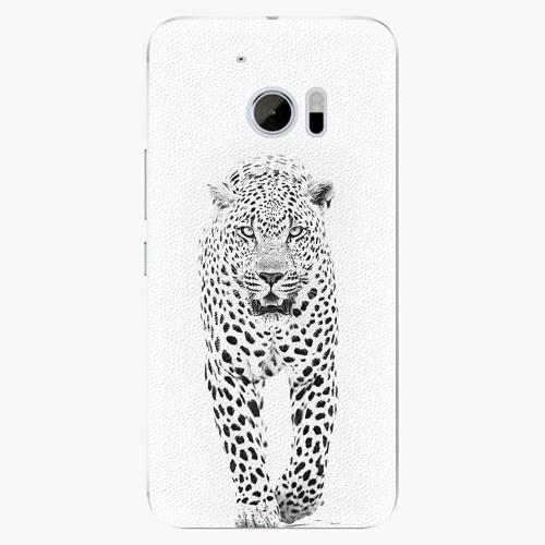 Plastový kryt iSaprio - White Jaguar - HTC 10