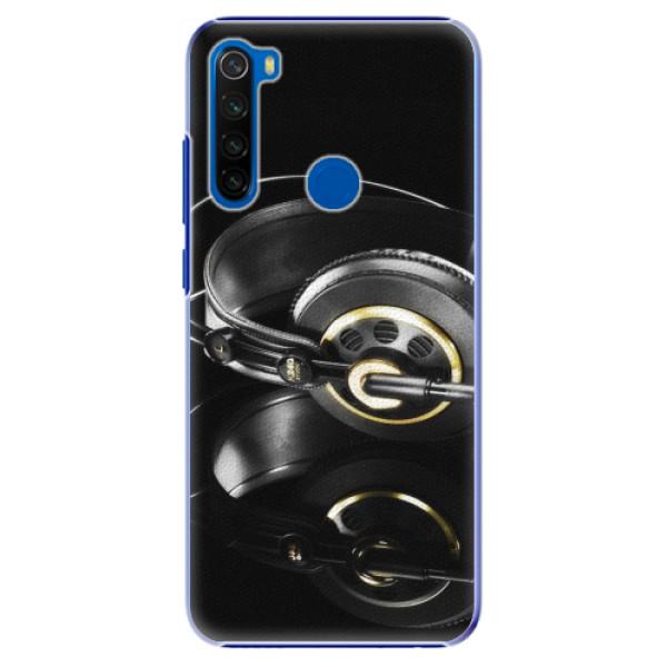 Plastové pouzdro iSaprio - Headphones 02 - Xiaomi Redmi Note 8T