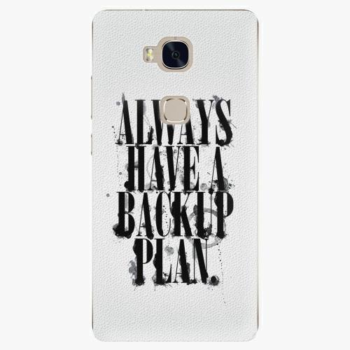 Plastový kryt iSaprio - Backup Plan - Huawei Honor 5X