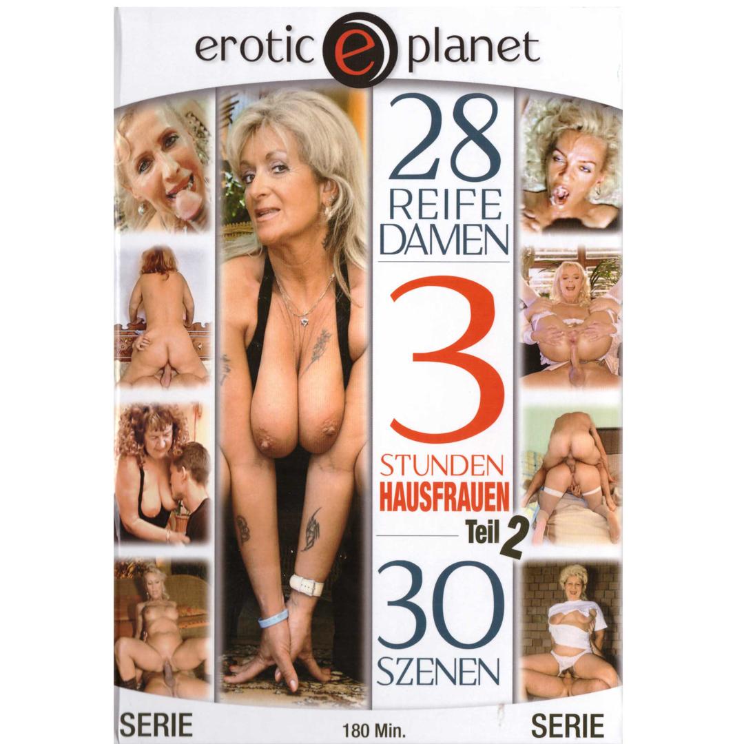 DVD - Erotic planet - 3 Stunden Hausfrauen <br />3 HODINY, DVD