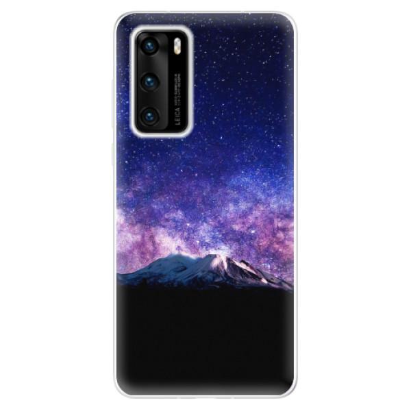 Odolné silikonové pouzdro iSaprio - Milky Way - Huawei P40