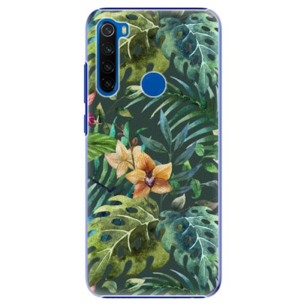 Plastové pouzdro iSaprio - Tropical Green 02 - Xiaomi Redmi Note 8T