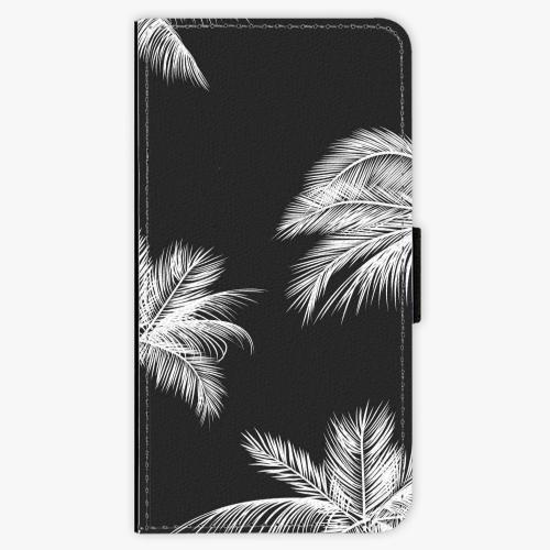 Flipové pouzdro iSaprio - White Palm - Samsung Galaxy S7