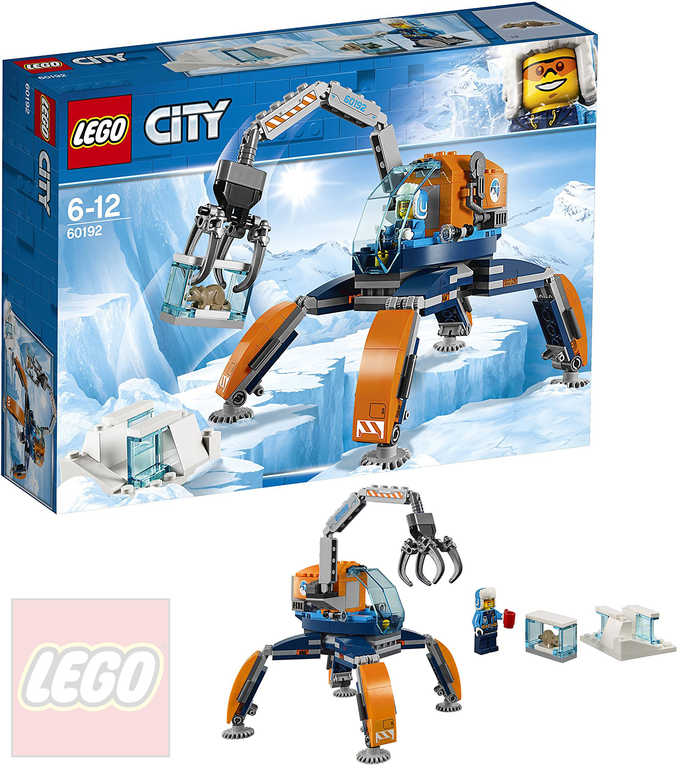 LEGO CITY Polární pásové vozidlo 60192 STAVEBNICE