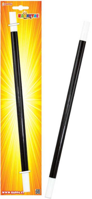 KARNEVAL Hůlka kouzelnická 32cm KARNEVALOVÝ DOPLNĚK
