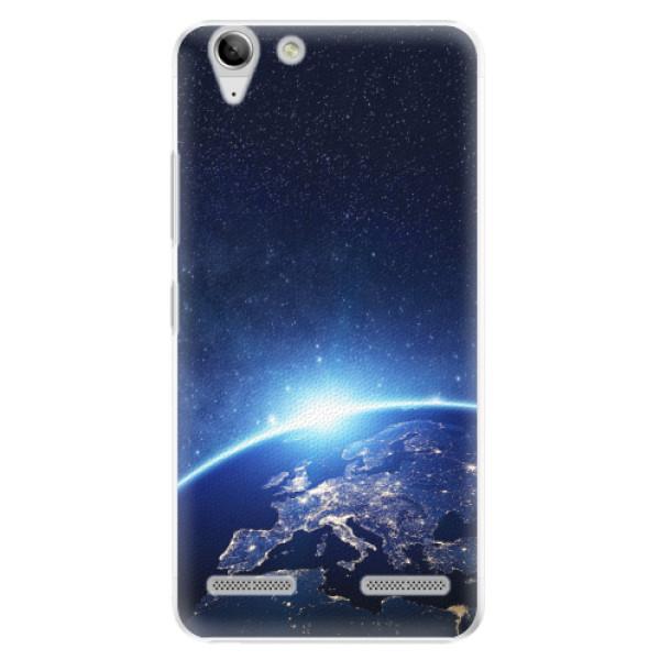 Plastové pouzdro iSaprio - Earth at Night - Lenovo Vibe K5