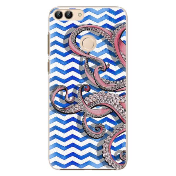 Plastové pouzdro iSaprio - Octopus - Huawei P Smart