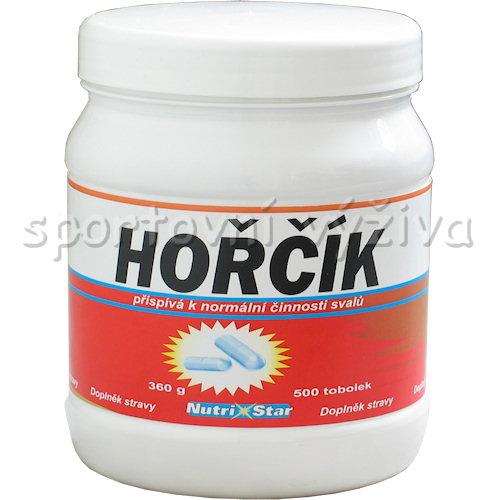 Hořčík 75 mg 500 kapslí