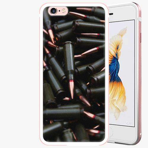 Plastový kryt iSaprio - Black Bullet - iPhone 6 Plus/6S Plus - Rose Gold