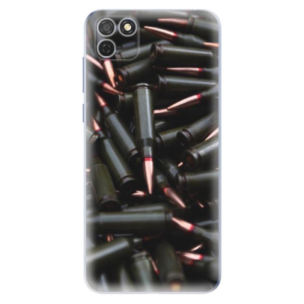 Odolné silikonové pouzdro iSaprio - Black Bullet - Honor 9S