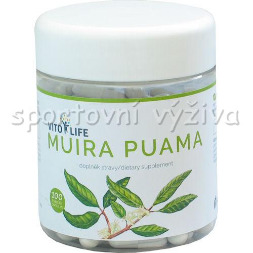 Muira Puama 100 kapslí
