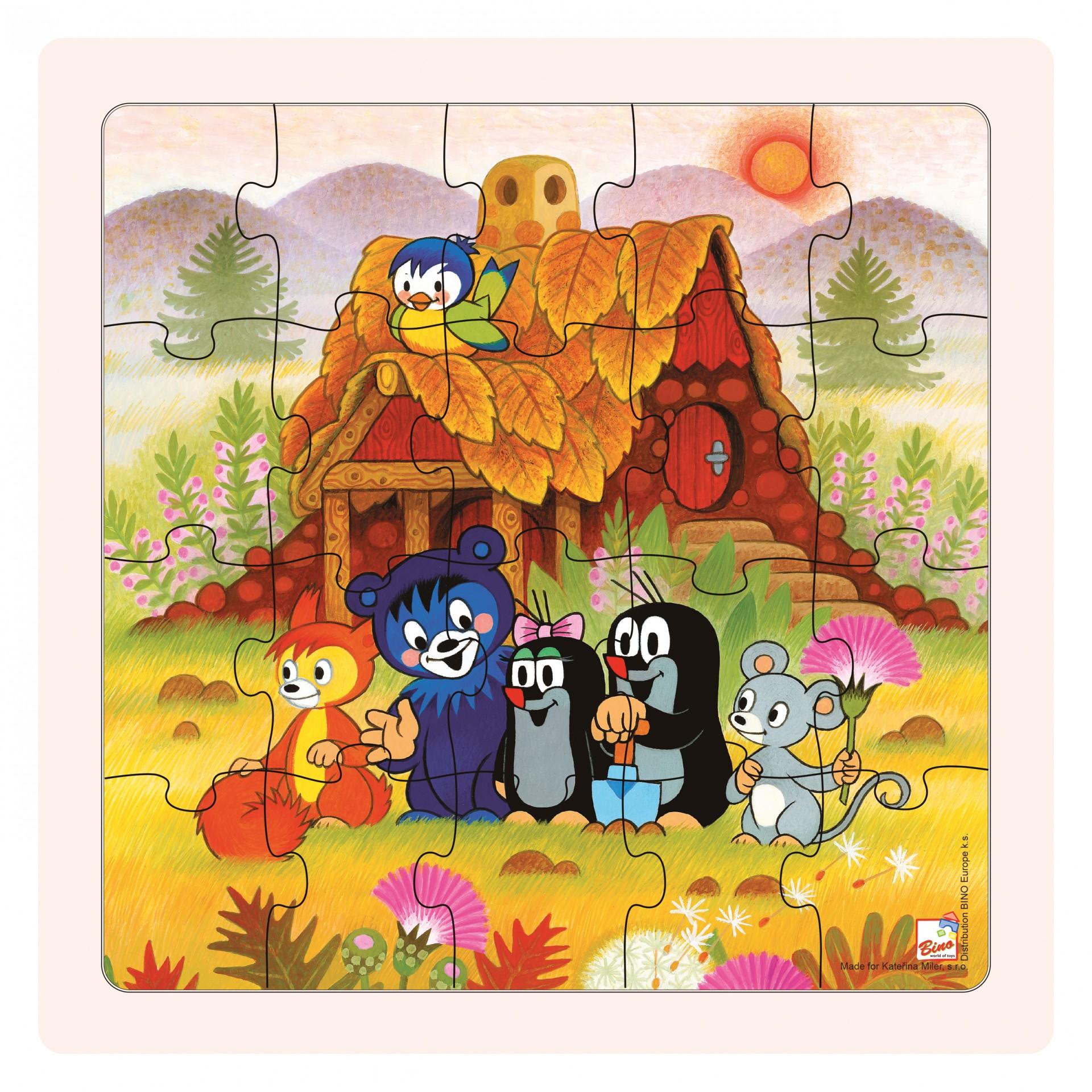 Puzzle Krtečková a přátelé