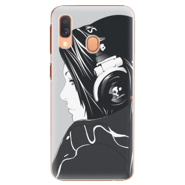 Plastové pouzdro iSaprio - Headphones - Samsung Galaxy A40