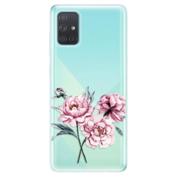 Odolné silikonové pouzdro iSaprio - Poeny - Samsung Galaxy A71
