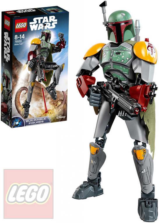 LEGO STAR WARS Boba Fett akční figurka 75533