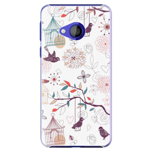Plastové pouzdro iSaprio - Birds - HTC U Play
