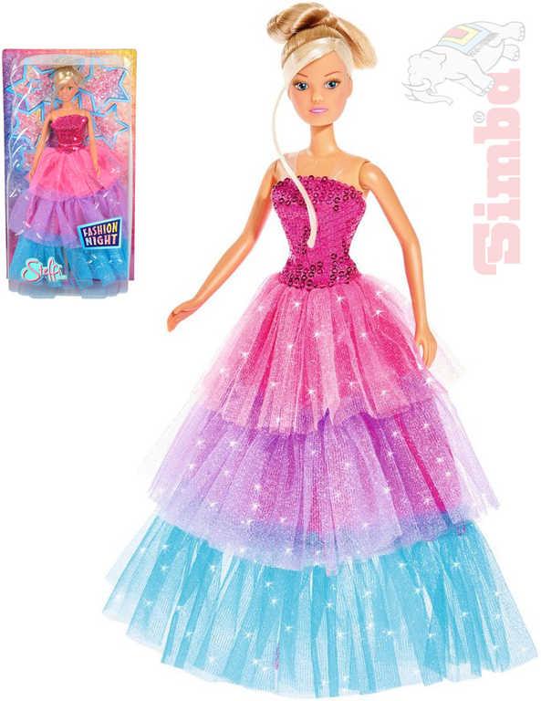SIMBA Steffi Fashion Night panenka 29cm večerní šaty dlouhé