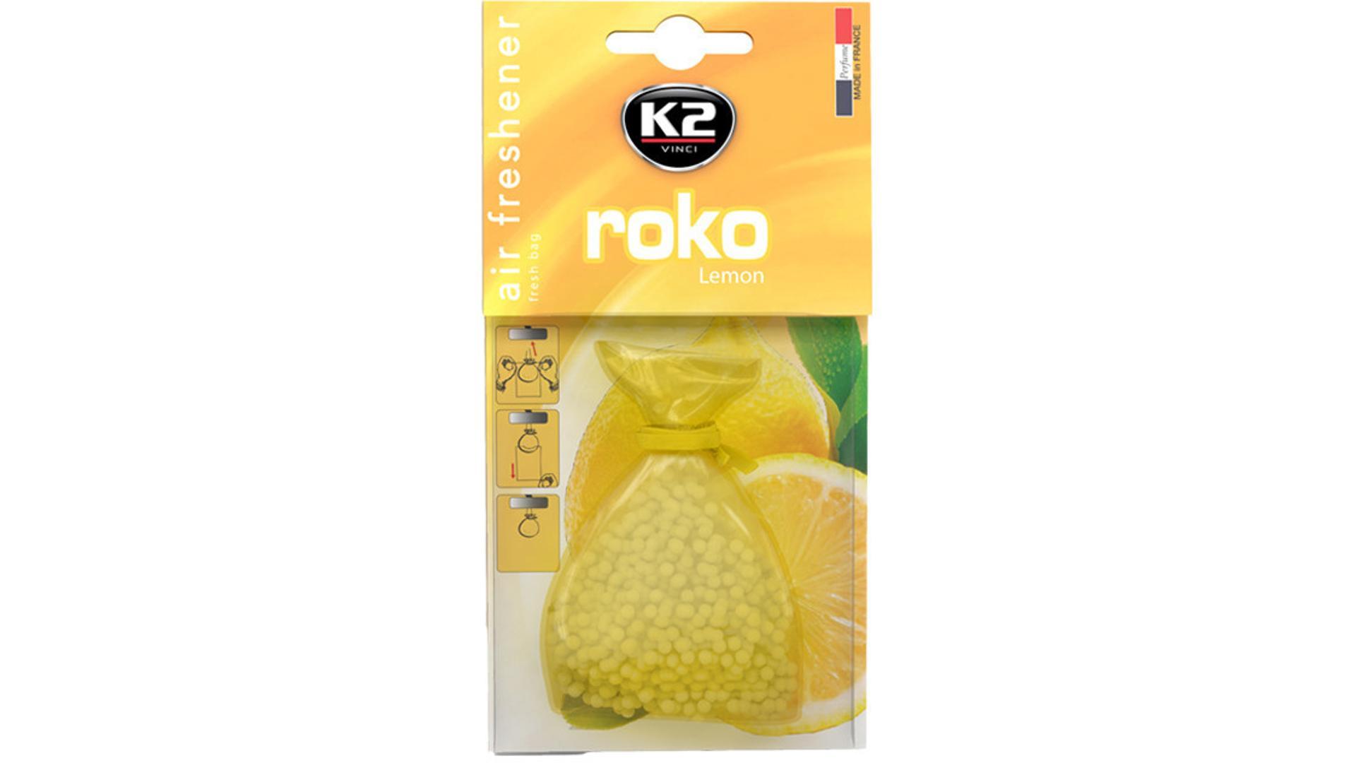 K2 ROKO osvěžovač vzduchu - Citron 20g
