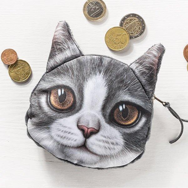 Kočičí peněženka na drobné - model - 3