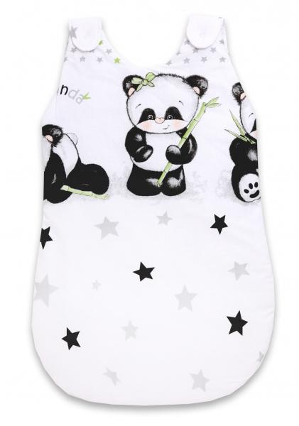 Spací vak Panda - bílý