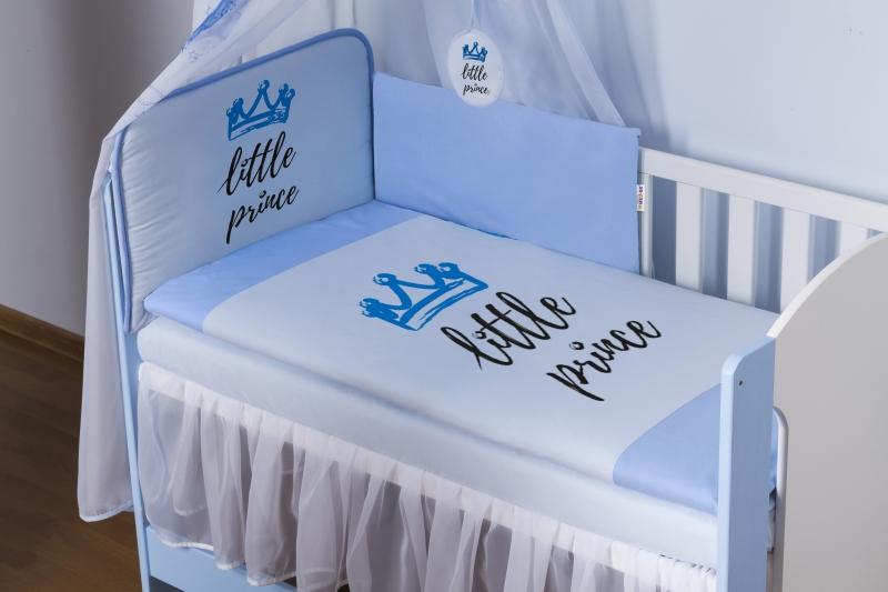 baby-nellys-3-dilna-sada-mantinel-180cm-s-povlec-little-prince-modry-roz-135x100cm-135x100