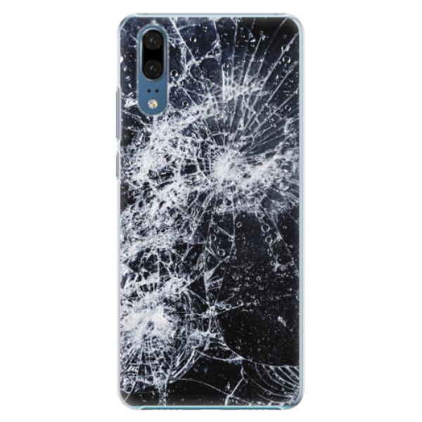 Plastové pouzdro iSaprio - Cracked - Huawei P20