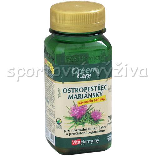 Ostropestřec mariánský Silymarin 70 tablet