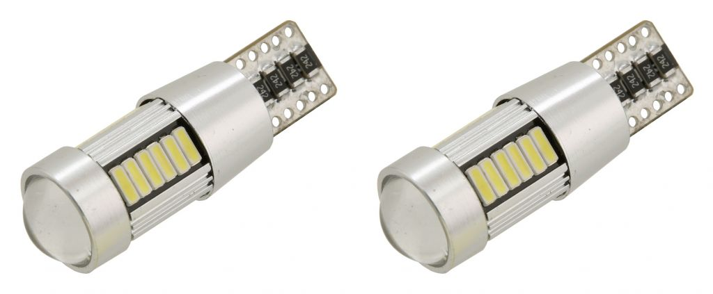 Žárovka 27 LED 12V, NEW-CAN-BUS bílá 2ks