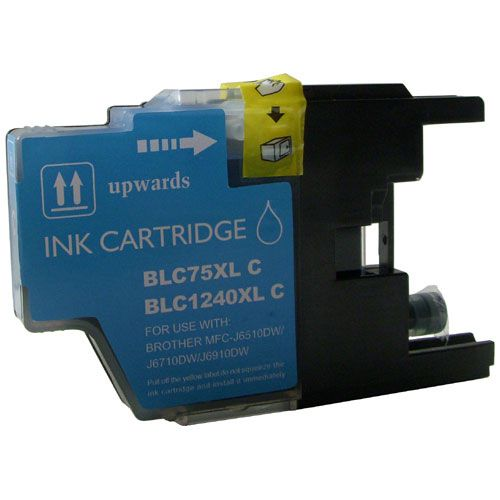 Inkoust LC1240C XL kompatibilní azurový pro Brother (10ml)