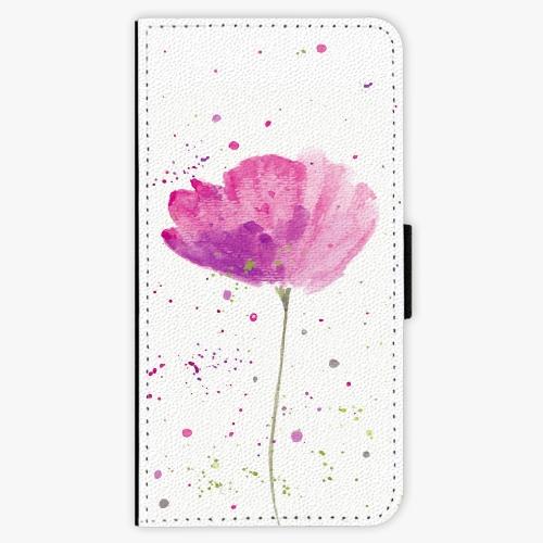 Flipové pouzdro iSaprio - Poppies - Huawei P9