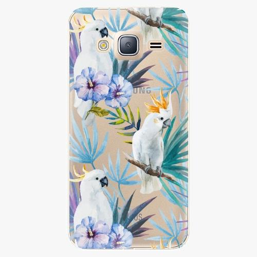 Plastový kryt iSaprio - Parrot Pattern 01 - Samsung Galaxy J3