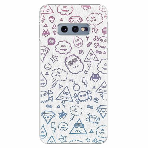 Plastový kryt iSaprio - Funny Clouds - Samsung Galaxy S10e
