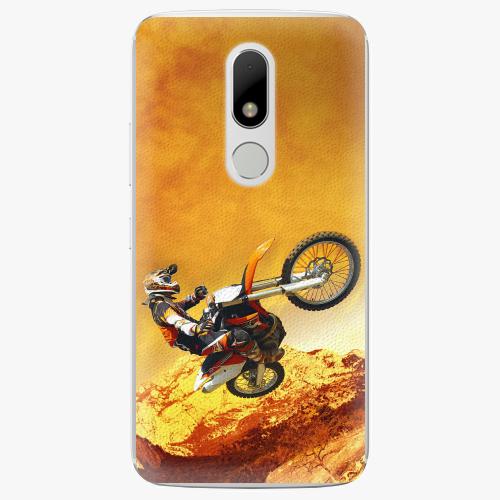 Plastový kryt iSaprio - Motocross - Lenovo Moto M