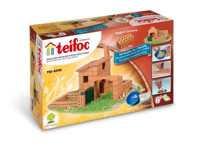 TEIFOC Domek Sergio 4010 *Stavebnice cihly s maltou*