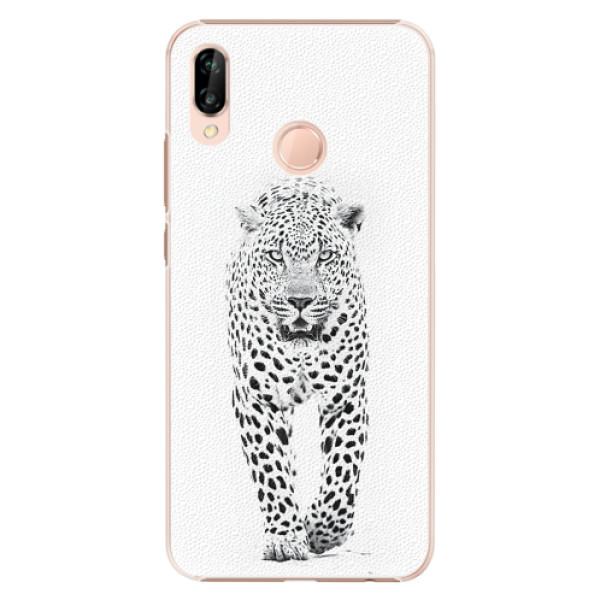 Plastové pouzdro iSaprio - White Jaguar - Huawei P20 Lite