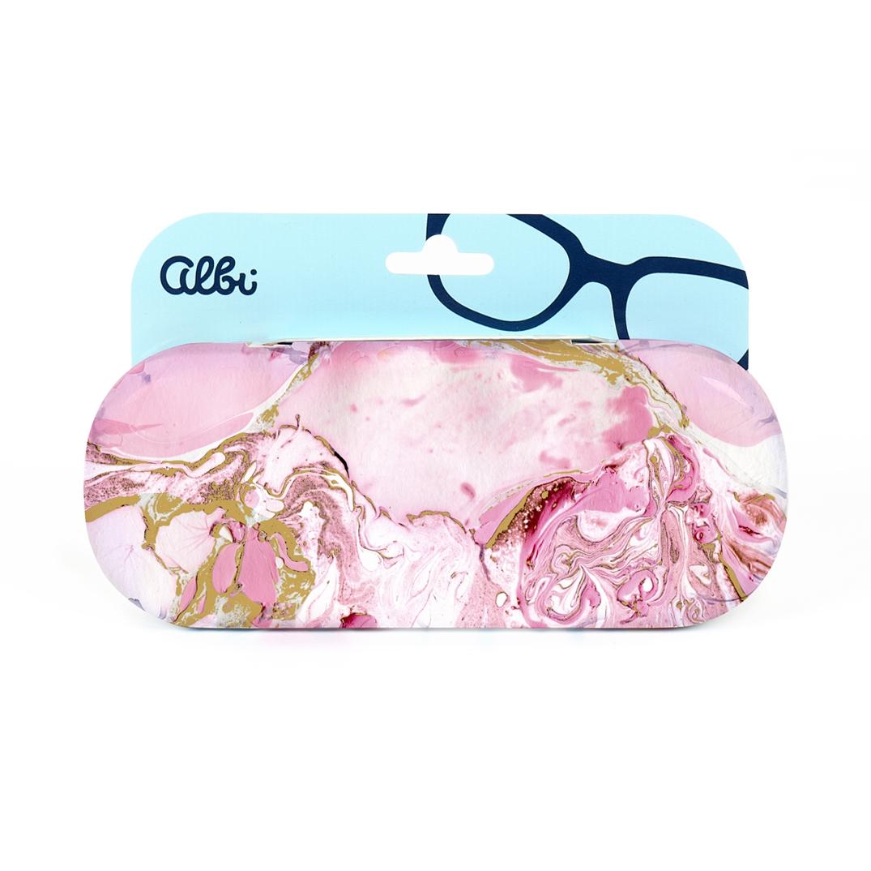 Pouzdro na brýle - Mramor