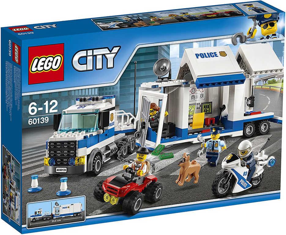 LEGO CITY Mobilní velitelské centrum 60139 STAVEBNICE