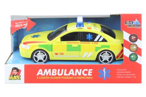 Ambulance - rychlé osobní vozdilo