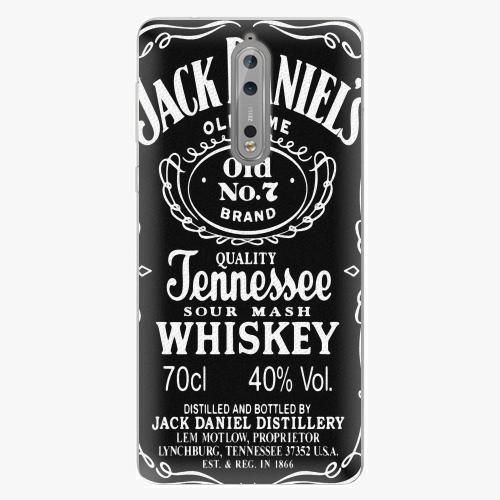 Plastový kryt iSaprio - Jack Daniels - Nokia 8