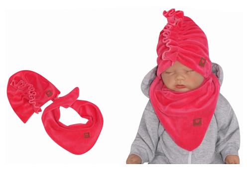 z-z-stylova-detska-jarni-podzimni-velurova-cepice-turban-s-satkem-amarant-44-48cm-44-48-cepicky-obvod